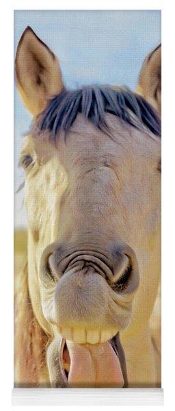 Horse Talk #2  Yoga Mat