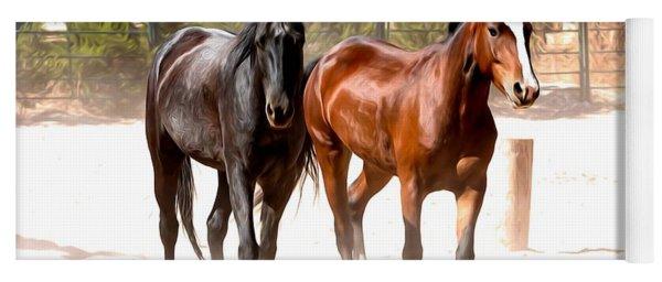 Horses Unlimited_6a Yoga Mat