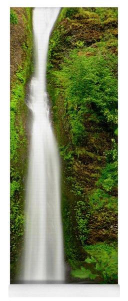 Horsetail Falls, Columbia River Gorge Yoga Mat