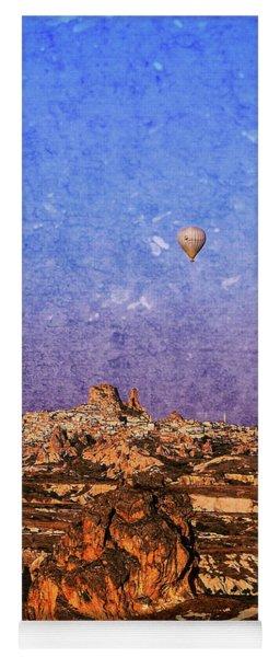 Hot Air Balloons In Cappadocia Yoga Mat
