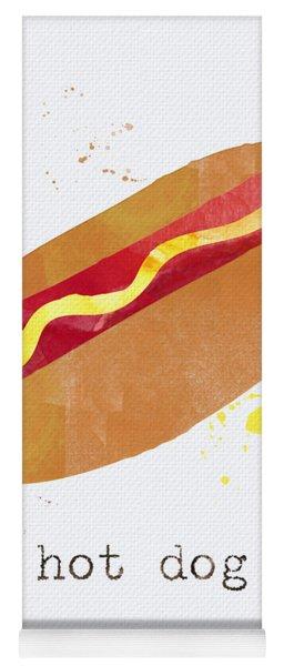 Hot Dog Yoga Mat