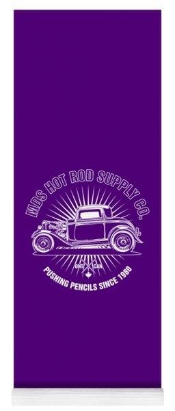 Hot Rod Shop Shirt Yoga Mat