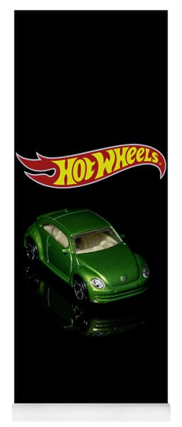 Yoga Mat featuring the photograph Hot Wheels 2012 Volkswagen Beetle by James Sage
