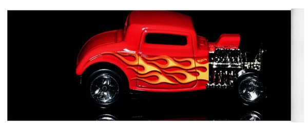 Hot Wheels '32 Ford Hot Rod Yoga Mat