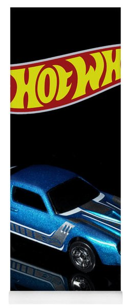 Hot Wheels 67 Pontiac Firebird 400-3 Yoga Mat