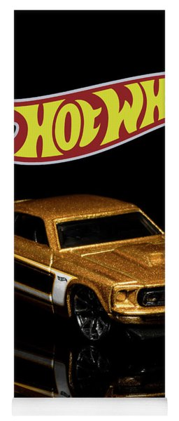 Hot Wheels '69 Ford Mustang 2 Yoga Mat