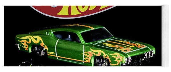 Hot Wheels '69 Ford Torino Talladega Yoga Mat