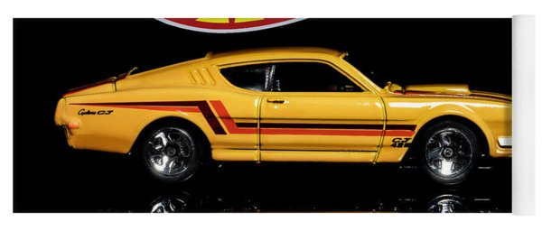 Hot Wheels '69 Mercury Cyclone Yoga Mat