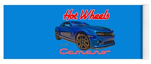 Hot Wheels Camaro Yoga Mat