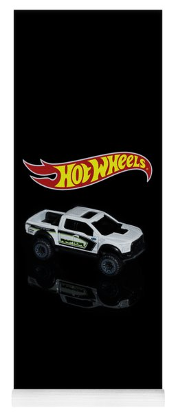Yoga Mat featuring the photograph Hot Wheels Ford F-150 Raptor by James Sage