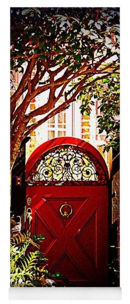 House Door 5 In Charleston Sc  Yoga Mat