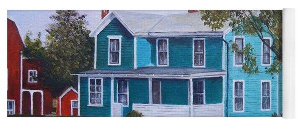 House In Seward Yoga Mat
