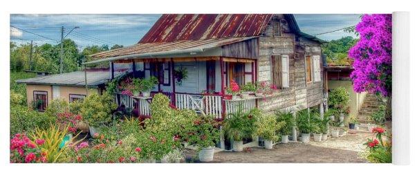 House Of Flowers  Yoga Mat