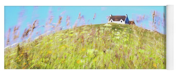 House On The Hill Yoga Mat