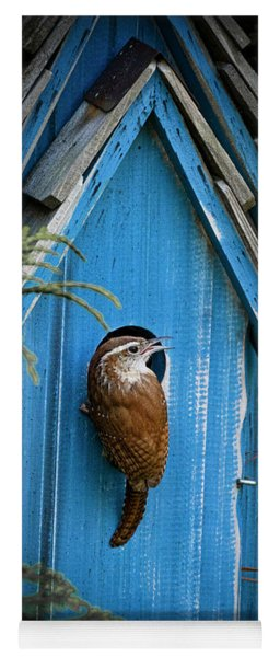 House Wren Yoga Mat