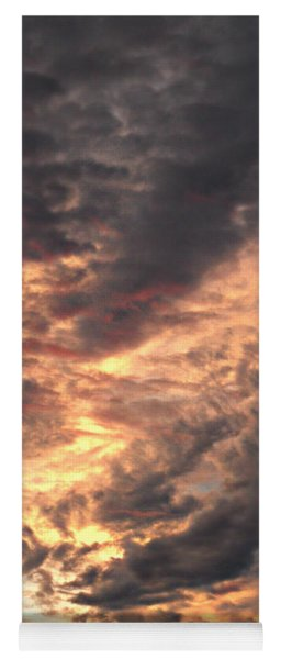 How About Them Clouds Yoga Mat