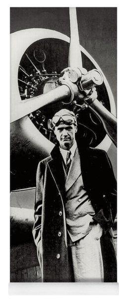 Howard Hughes - American Aviator  Yoga Mat