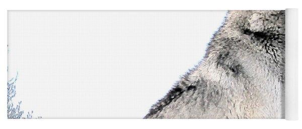 Howling Wolf 1 Yoga Mat