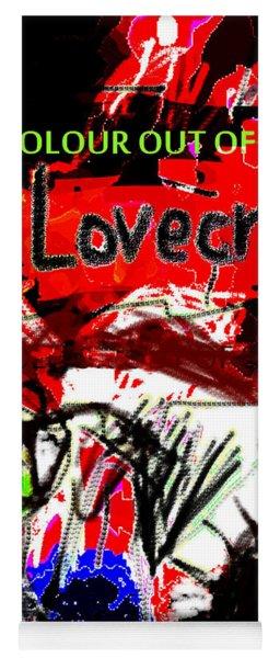 Hp Lovecraft Poster  Yoga Mat