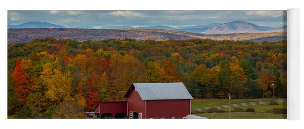 Hudson Valley Ny Fall Colors Yoga Mat
