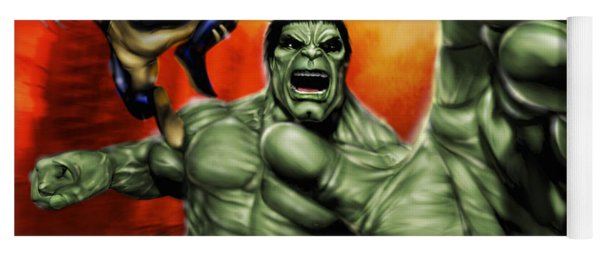 Hulk Yoga Mat
