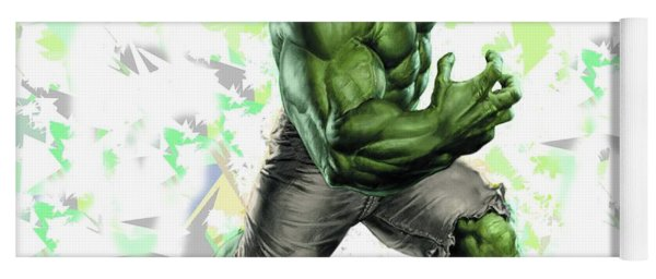 Hulk Splash Super Hero Series Yoga Mat