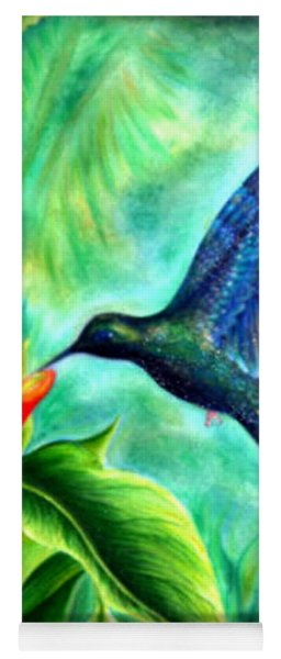 Humming Bird  Yoga Mat