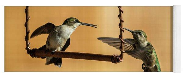 Humming Birds Yoga Mat