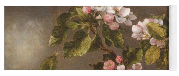 Hummingbird And Apple Blossoms Yoga Mat