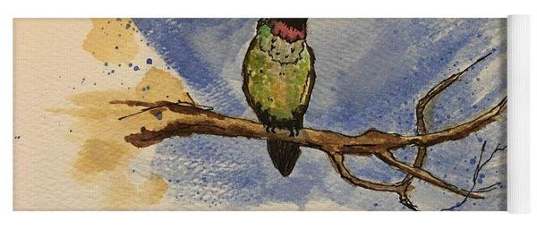 Hummingbird At Rest Yoga Mat
