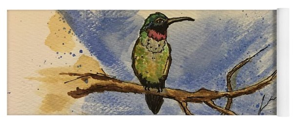 Hummingbird At Rest Yoga Mat