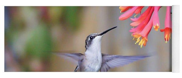 Hummingbird Happiness 2 Yoga Mat
