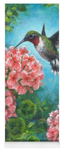Hummingbird Heaven Yoga Mat