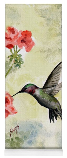 Hummingbird Yoga Mat