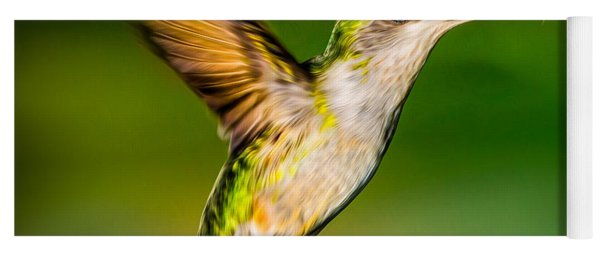 Hummingbird Sparkle Yoga Mat
