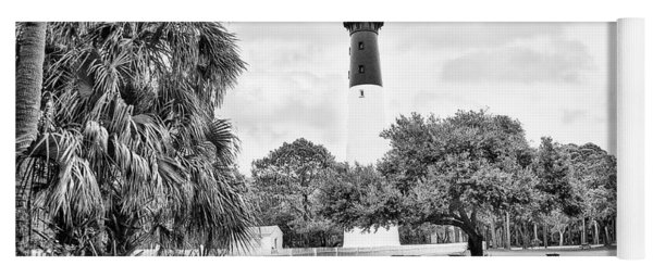 Hunting Island Lighthouse Yoga Mat