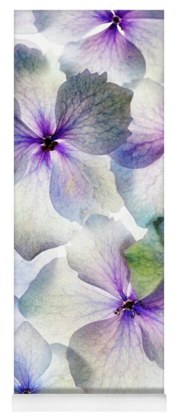 Hydrangea Bloom Yoga Mat