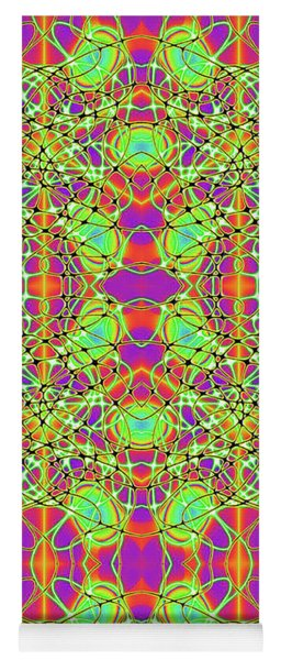 Hyper Illusion Yoga Mat
