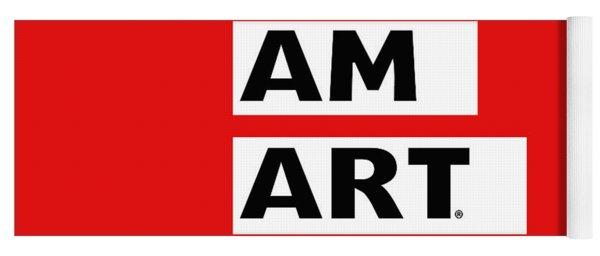 I Am Art Stripes- Design By Linda Woods Yoga Mat