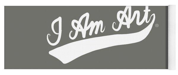 I Am Art Swoosh- Art By Linda Woods Yoga Mat