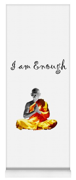 I Am Enough Yoga Mat