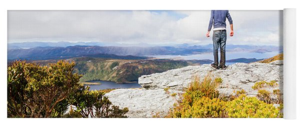 I Can Climb Mountains Yoga Mat