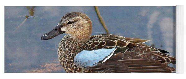I Really Am A Green Winged Teal Yoga Mat