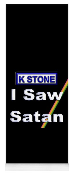 I Saw Satan Yoga Mat