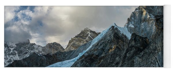 Ice Blue Changri Glacier Yoga Mat