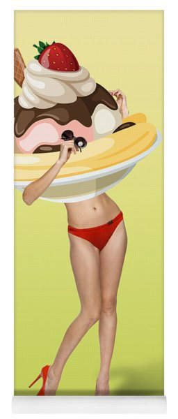 Ice Cream Yoga Mat