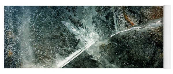 Yoga Mat featuring the photograph Ice Winter Denmark by Colette V Hera Guggenheim
