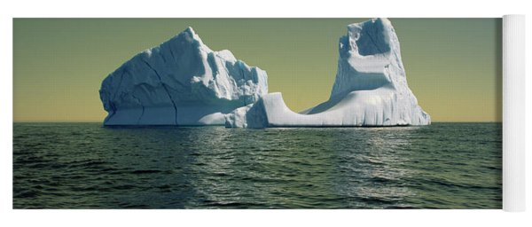 Iceberg In The Labrador Sea Yoga Mat
