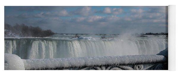 iced fencing - Niagara Yoga Mat