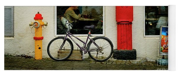 Iceland Fish And Chips Bicycle Yoga Mat